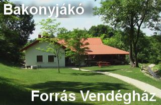 falusi turizmus - Bakonyjákó
