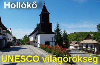 falusi turizmus - Hollókő